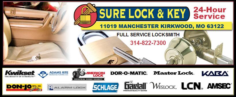 St Louis Mo Locksmiths Sure Lock Amp Key